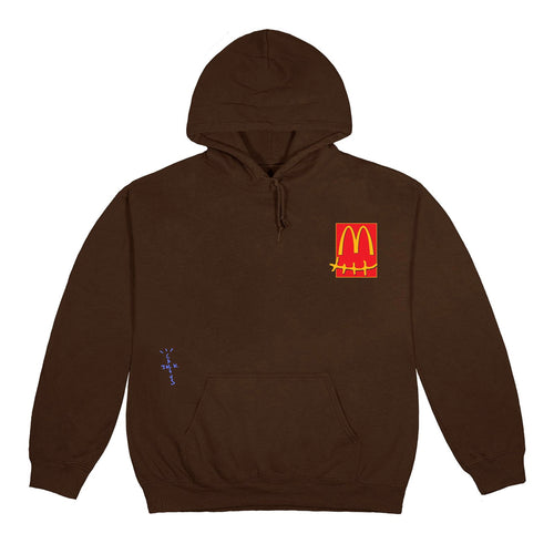 Travis Scott x McDonald's Cactus Pack Sticker Hoodie