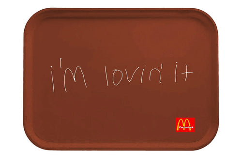 Travis Scott x McDonald's I'm Lovin' it Lunch Tray
