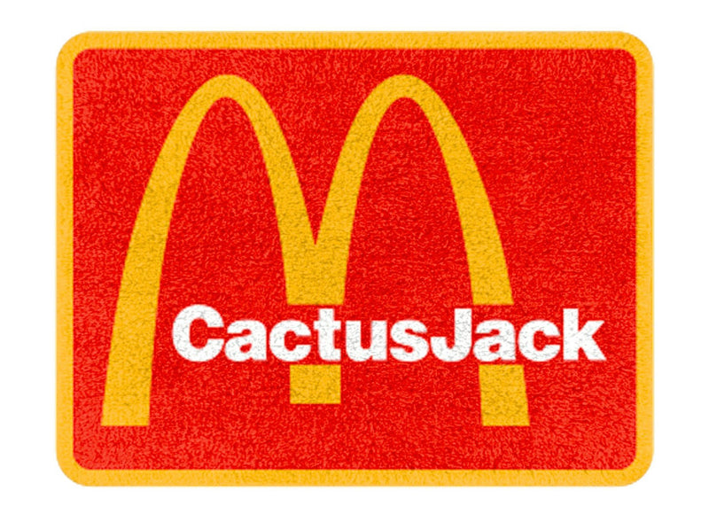 Travis Scott x McDonald's CJ Arches Rug