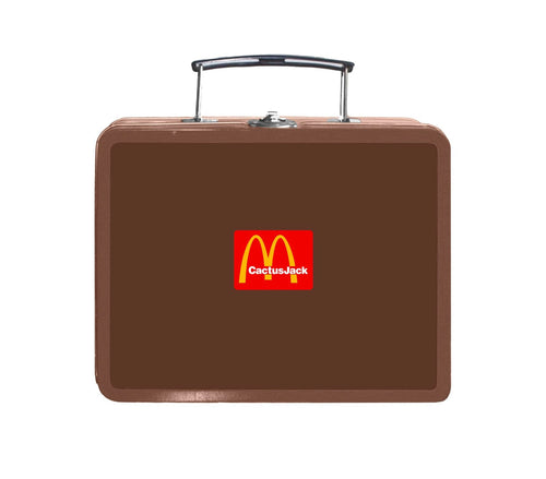 Travis Scott x McDonald's Cactus Pack Lunch Box