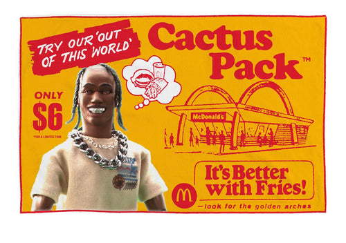 Travis Scott x McDonald's Cactus Pack Vintage Blanket