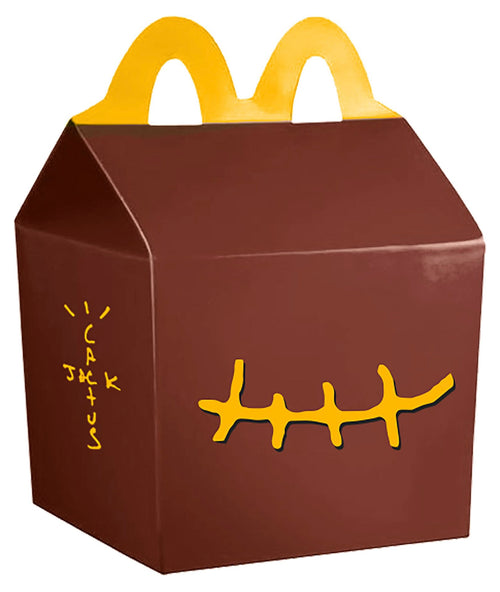 Travis Scott x McDonald's Smile Clutch