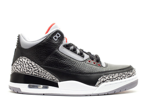 Air Jordan 3  Retro Black Cement 2011