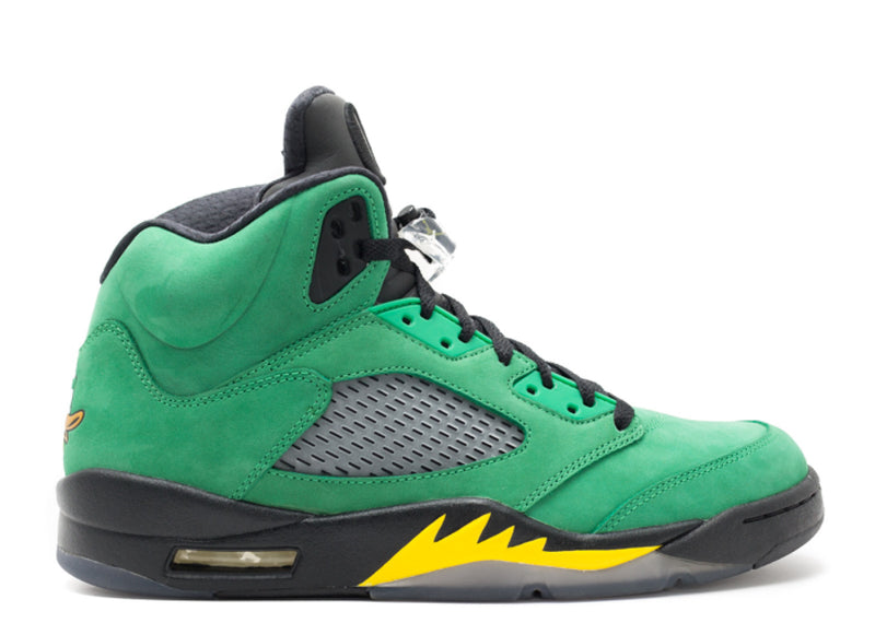 "Air Jordan 5 Retro ""Oregon Ducks"""