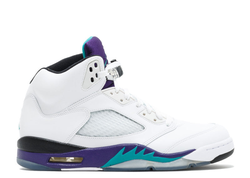 Air Jordan 5 Retro White Grape