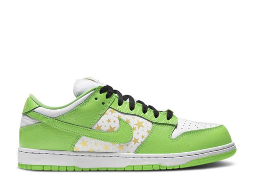 Nike Supreme x Dunk Low OG SB QS 'Mean Green'