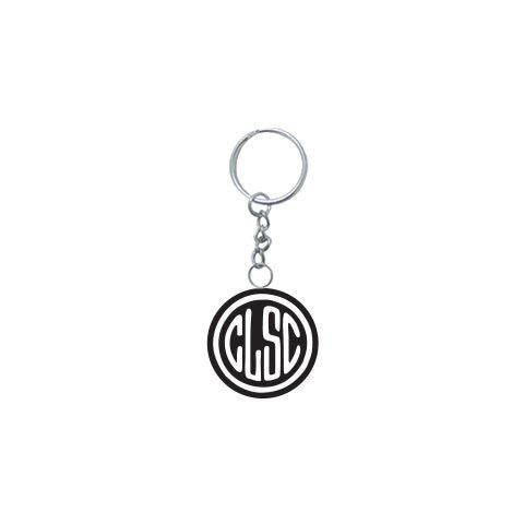 CLSC STAMP RUBBER KEYCHAIN