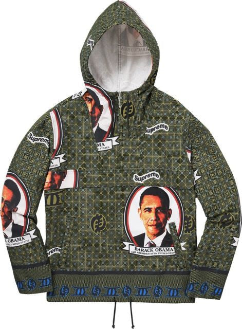 Supreme Obama Anorak