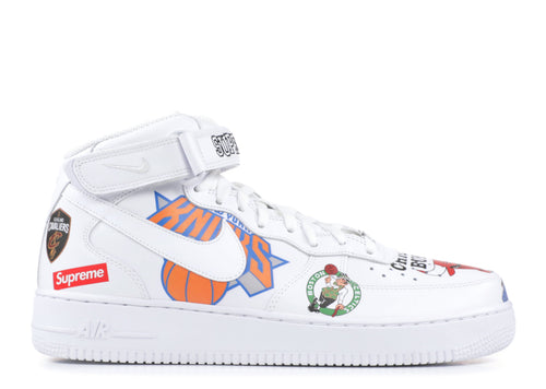 Nike Air Force 1 Mid Supreme NBA