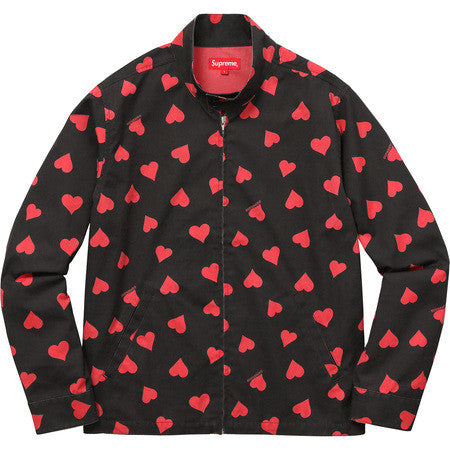Supreme  Hearts Harrington Jacket