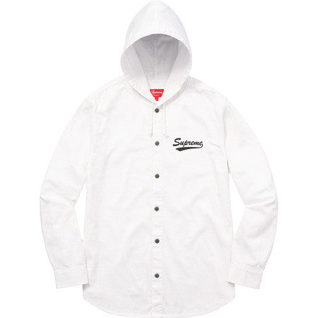 Supreme Hooded Shirt