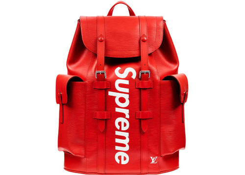 Louis Vuitton x Supreme Christopher Backpack Epi EM