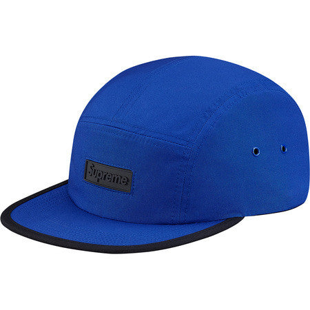 Supreme Logo Rubber Camp Cap