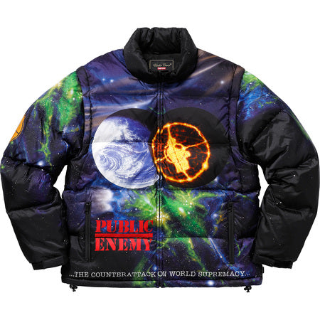 Supreme UNDERCOVER Public Enemy Puffy Jacket