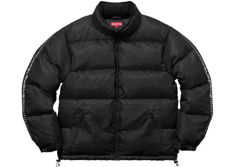 Supreme Reflective Sleeve Logo Puffy Jacket