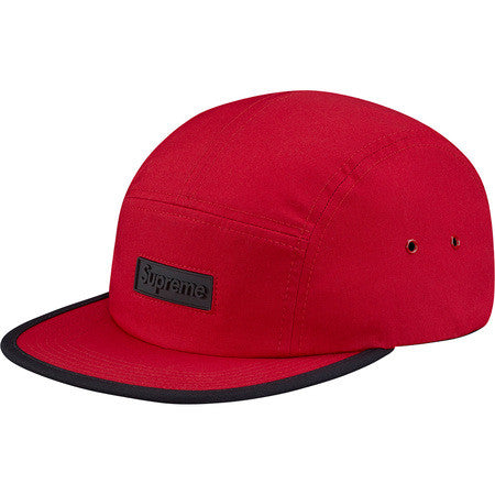 Supreme Rubber Logo Camp Cap