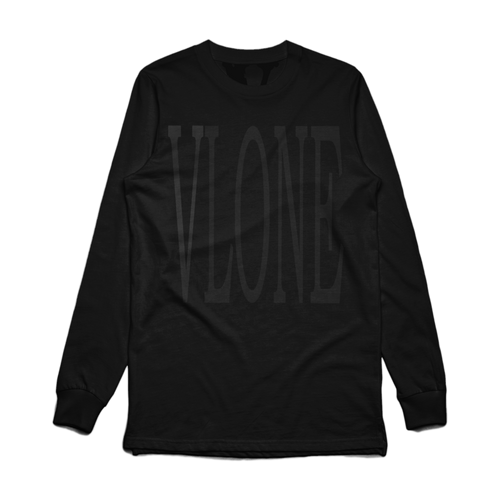 VLONE 3M Blackout Staple Long Sleeve