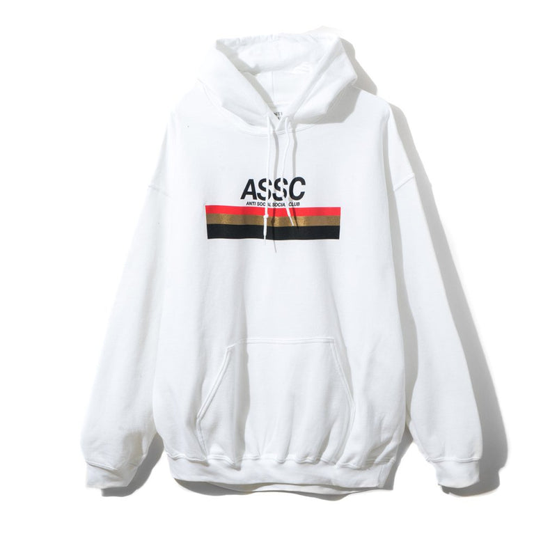 Anti Social Social Club White Type R Hoodie