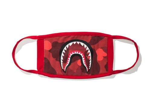Bape Color Camo Shark Mask