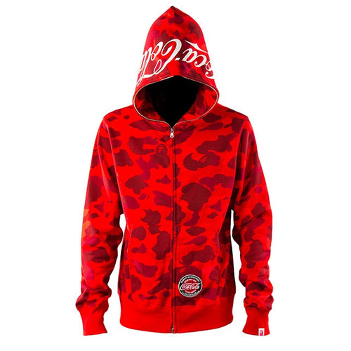 A Bathing Ape x Coca Cola Hoodie Full Zip