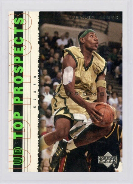 2003 Lebron James Upper Deck Top Prospects Promo #P1
