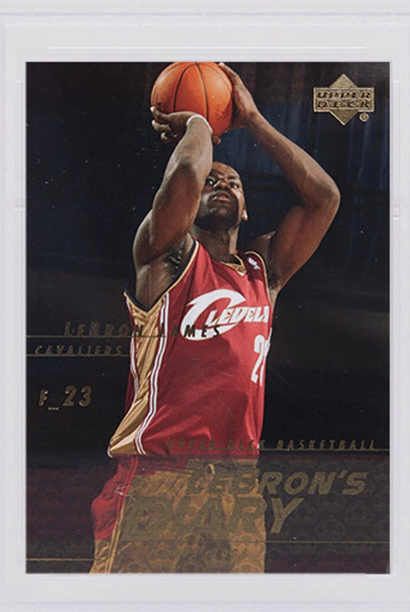 2003 Lebron James Upper Deck Diary Rookie - PSA 10