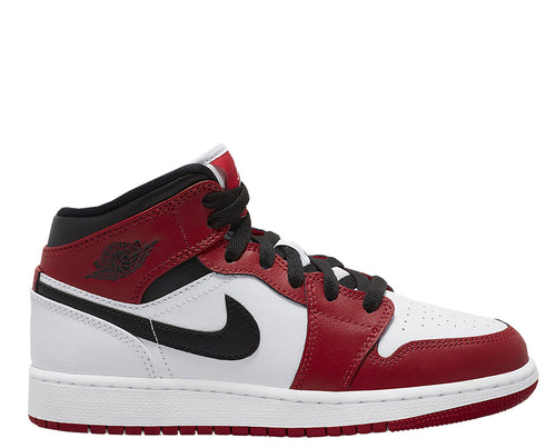 Air Jordan 1 Mid Chicago Grade School