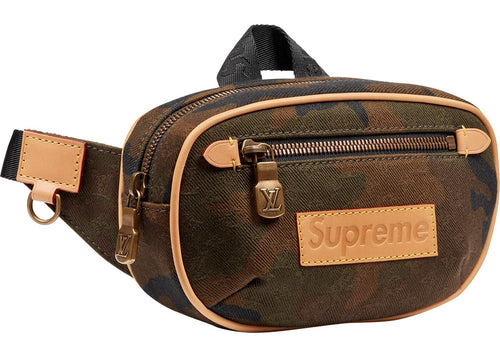 Supreme x Louis Vuitton Camo Bum Bag Monogram PM