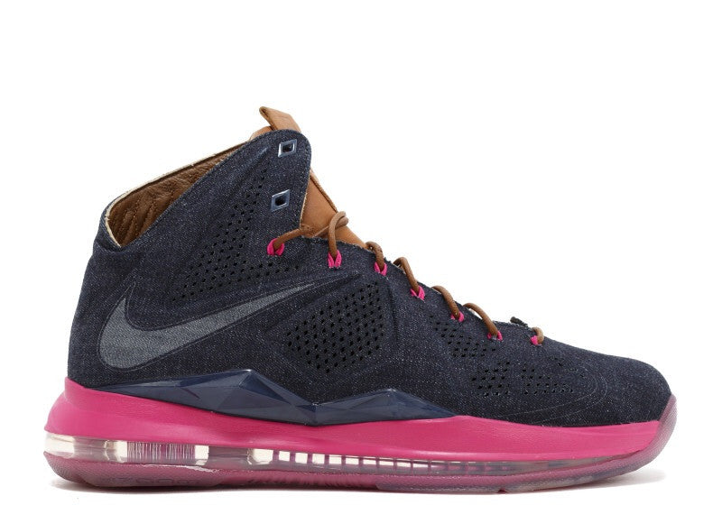 Lebron 10 EXT Denim QS
