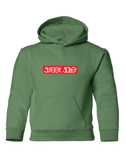 Street Sole Box Logo Hoodie Youth