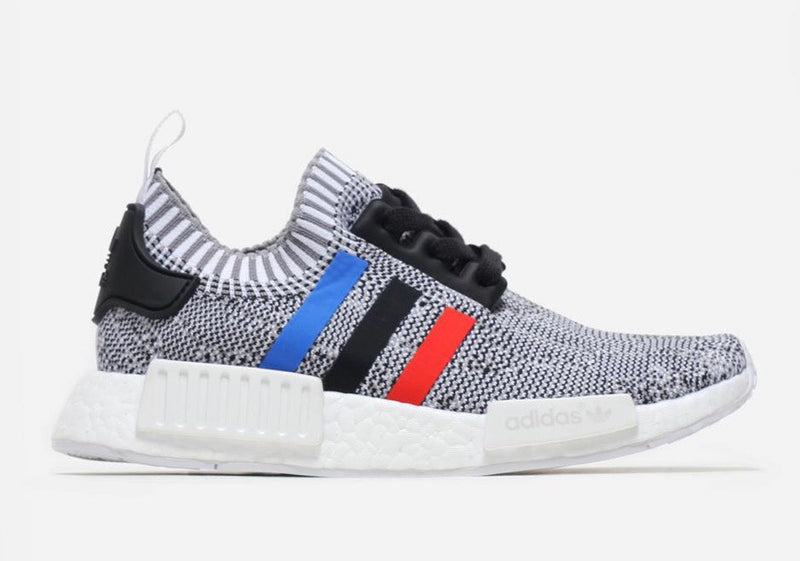 NMD R1 White Trico Stripes