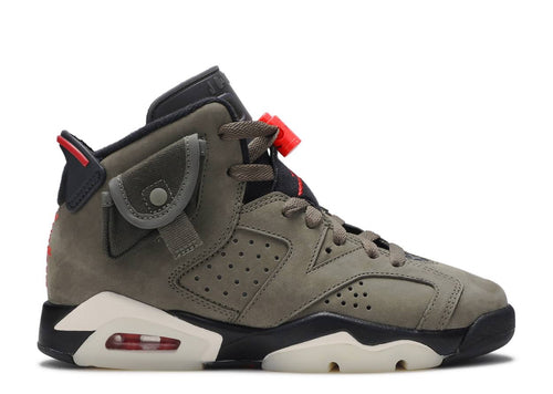 TRAVIS SCOTT X AIR JORDAN 6 RETRO GS 'OLIVE