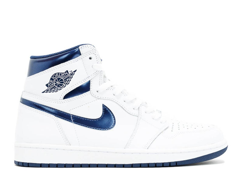 Air Jordan 1 Retro High Metallic Navy
