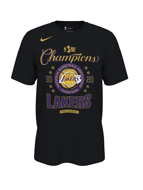 Nike 2020 NBA Champions Los Angeles Lakers Locker Room T-Shirt