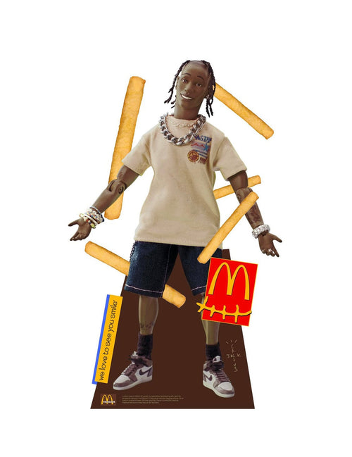 Travis Scott Life Size Cutout