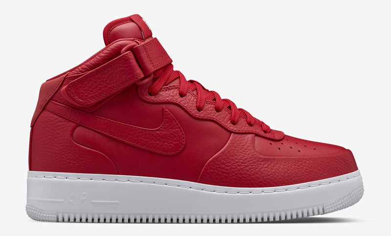 NikeLab Air Force 1 Mid Red