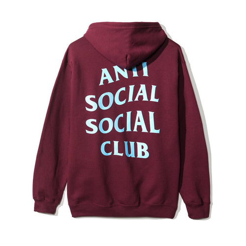 Anti Social Social Club Maroon Five Zip Hoodie