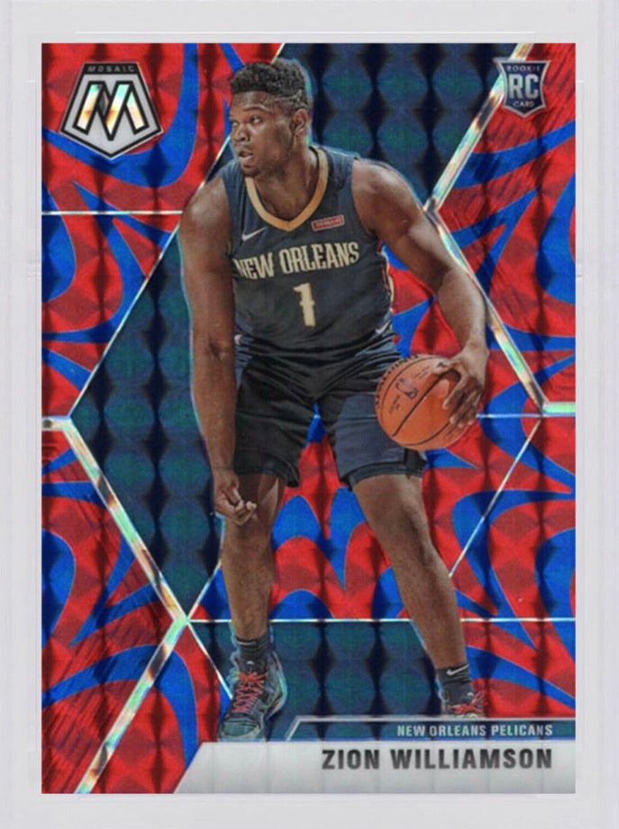 Zion Williamson 2019 Panini Mosaic RB