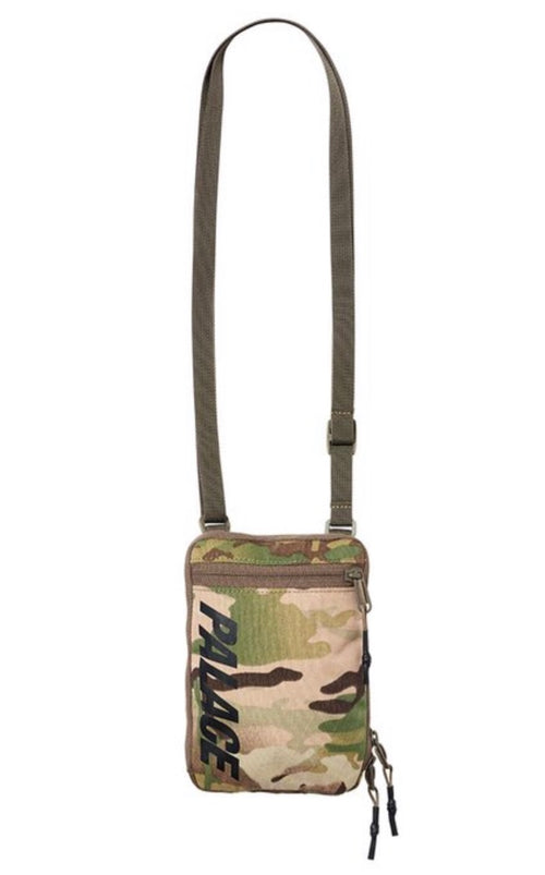 Palace Camo Shoulder Bag