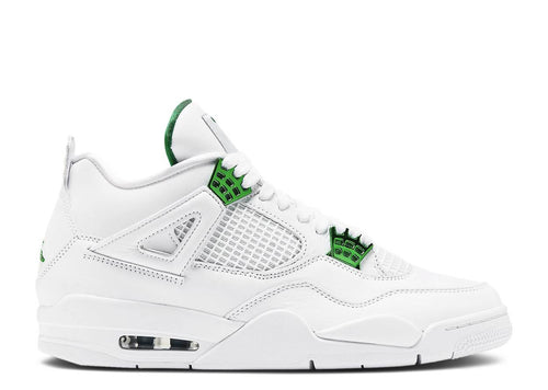 Air Jordan 4 Metallic Green