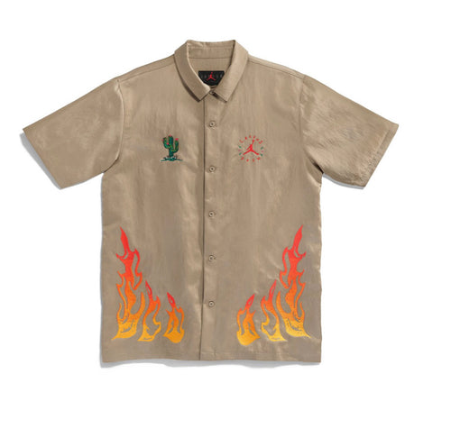 Cactus Jack x Jordan Button Down Shirt