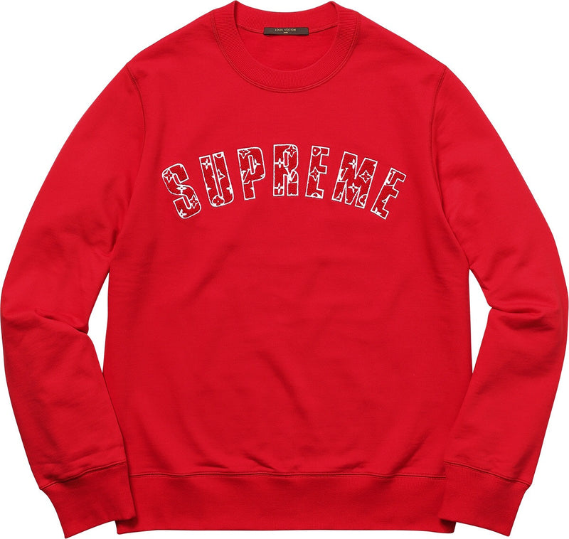 Louis Vuitton x Supreme Arc Logo Crewneck
