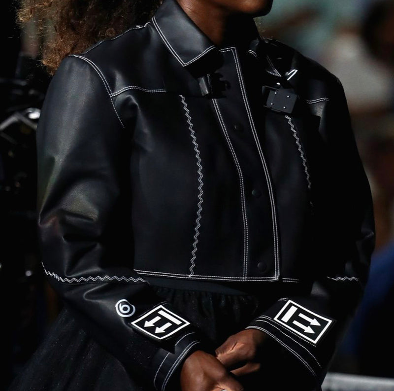 Off-White x Nike Serena Williams Leather WMNS Jacket