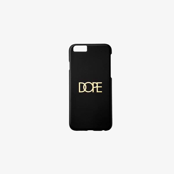 Dope Gold Logo iPhone Case
