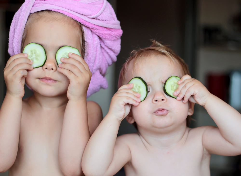 Natural Skincare for Children and Babies