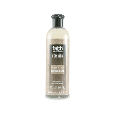 Ginger & Lime Shower Gel for Men 400ml