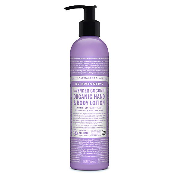Organic Lavender and Coconut Lotion 236ml