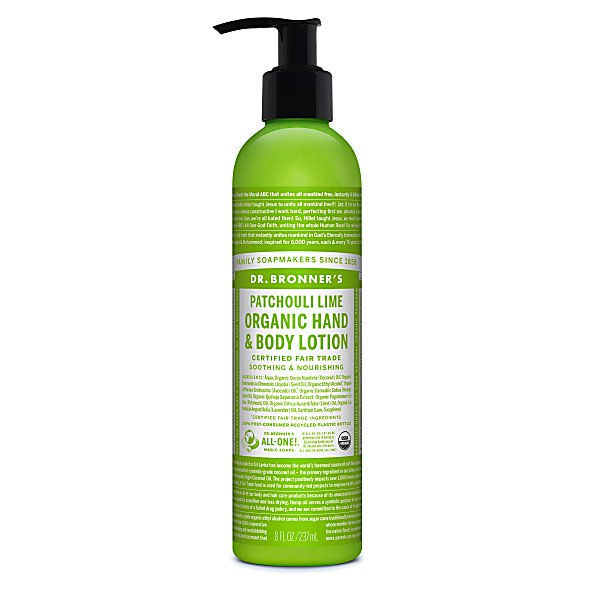 Organic Patchouli Lime Lotion 236ml