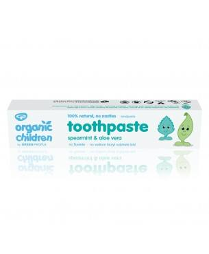 Organic Spearmint & Aloe Vera Children Toothpaste 50ml