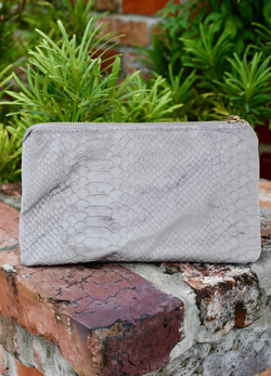 Crossbody Snake - Gray